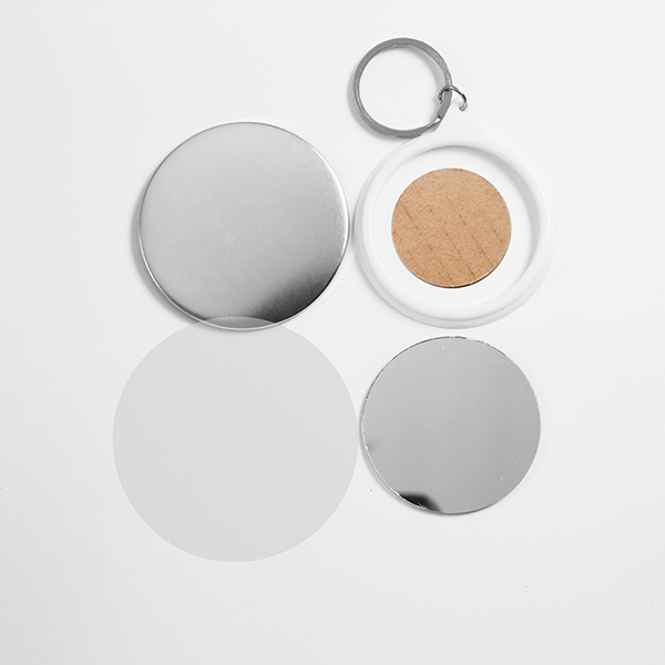 Брелок-зеркало круглый, 58 мм