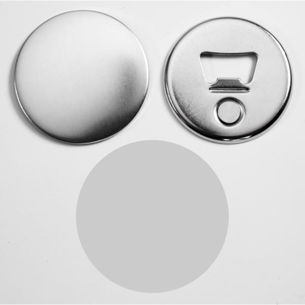 Магнит-открывалка круглая, 56 мм