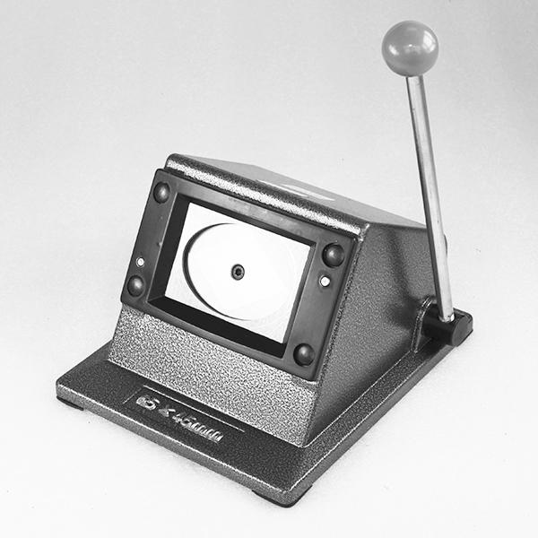 Вырубщик для значков, под овальную форму 69*45 мм