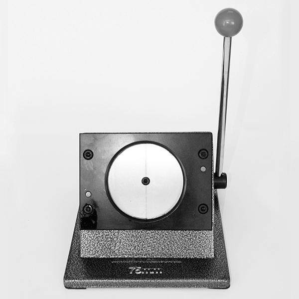 Вырубщик для значков, под круглую форму 75 мм