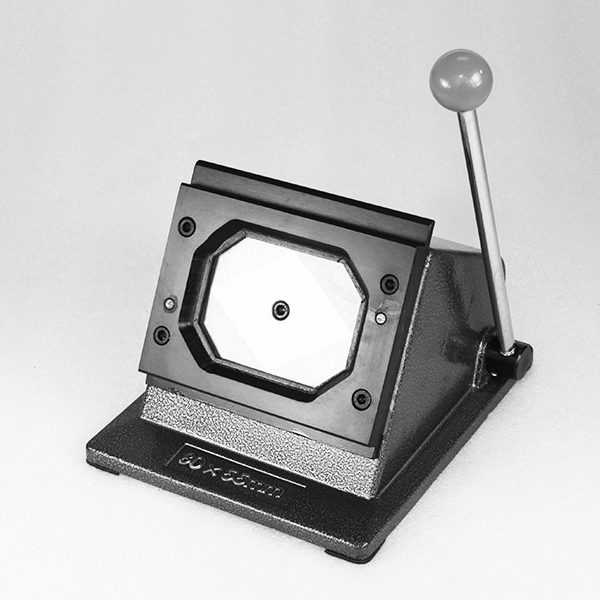 Вырубщик для значков, под прямоугольную форму 78*54 мм