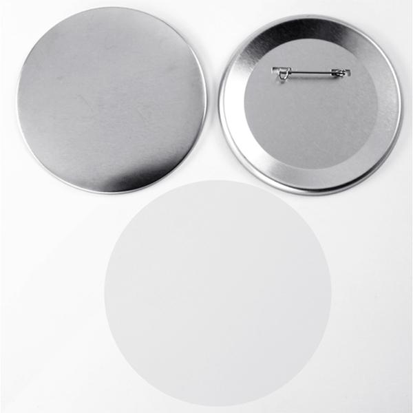 Значок круглый, 75 мм